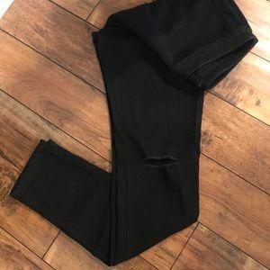 American Bazi Pants - American Bazi Black Skinnies